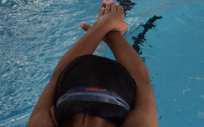 The Balance of Swimming and School